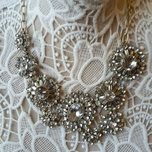 STUNNING  RHINESTONE STATEMENT Necklace J CREW